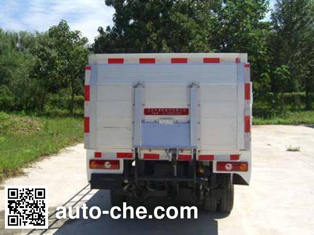 Hualin HLT5030CTYEV electric garbage container transport truck