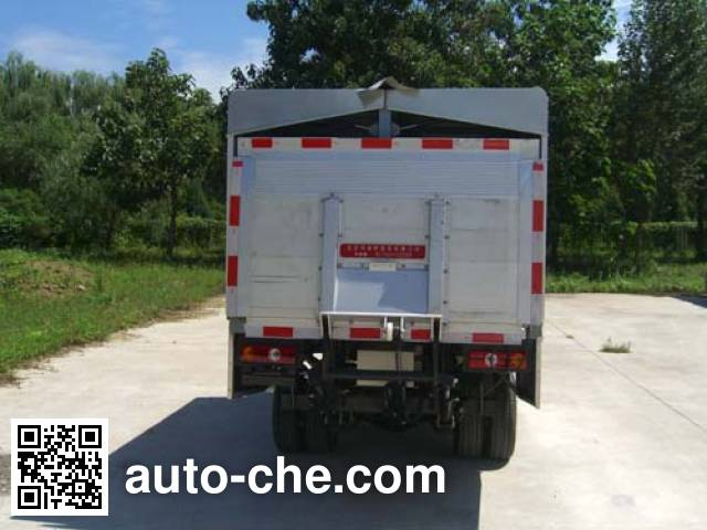 Hualin HLT5033CTYEV electric garbage container transport truck