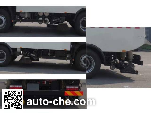 Hualin HLT5160TSLEV electric street sweeper truck