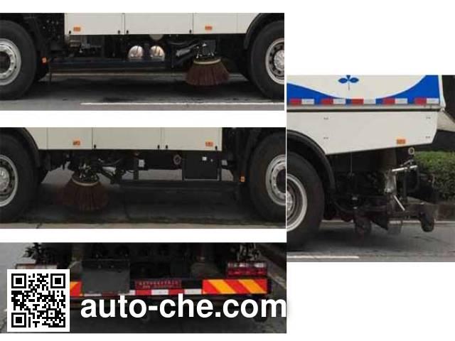 Hualin HLT5160TXSEV electric street sweeper truck