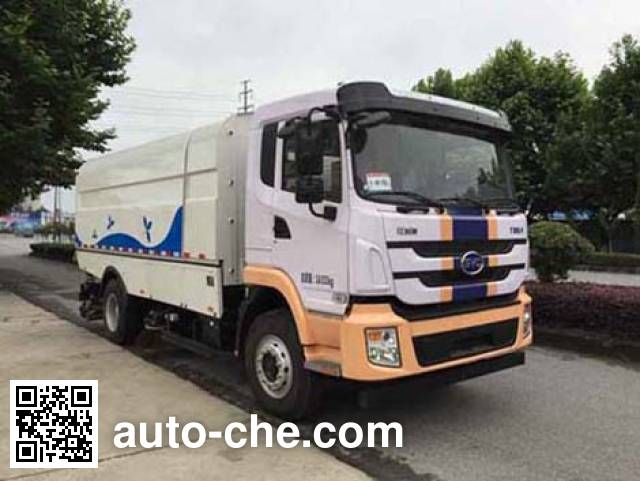 Hualin HLT5160TXSEV electric street sweeper truck