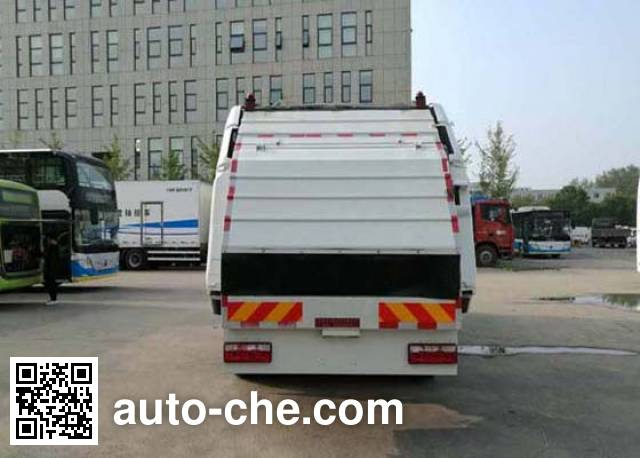 Hualin HLT5160ZYSEV electric garbage compactor truck