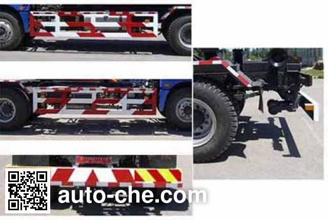 华林牌HLT5162ZXX车厢可卸式垃圾车