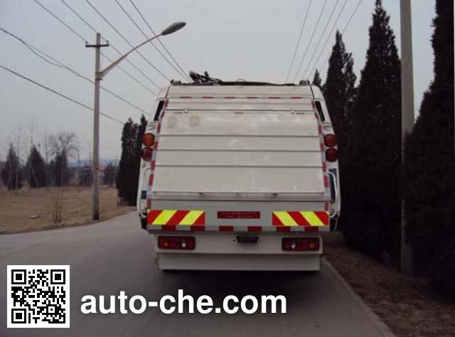 Hualin HLT5162ZYSD garbage compactor truck