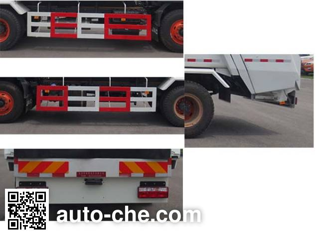 Hualin HLT5162ZYSE5 garbage compactor truck
