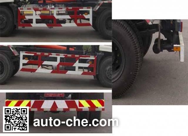 华林牌HLT5165ZXXR车厢可卸式垃圾车