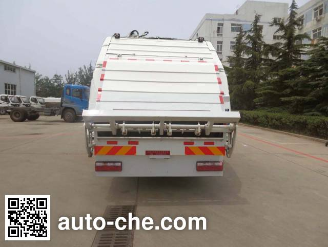 Hualin HLT5180ZYSEV electric garbage compactor truck