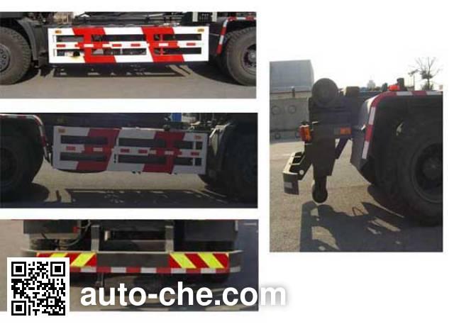 华林牌HLT5250ZXX车厢可卸式垃圾车