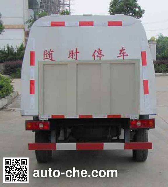 Zhongqi Liwei HLW5020XTY5SC sealed garbage container truck