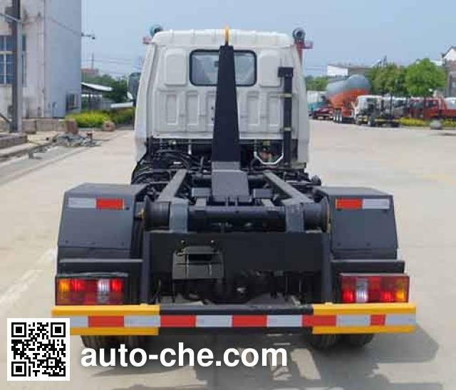 中汽力威牌HLW5040ZXXB车厢可卸式垃圾车