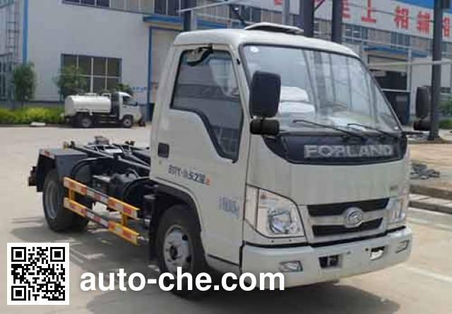 Zhongqi Liwei HLW5040ZXXB detachable body garbage truck