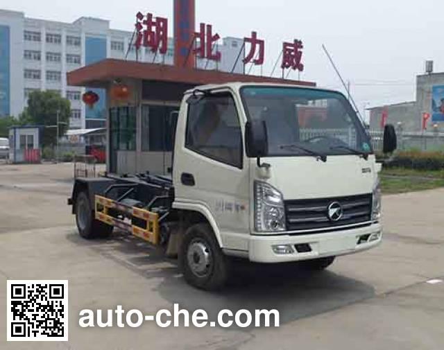 Zhongqi Liwei HLW5043ZXX5KM detachable body garbage truck