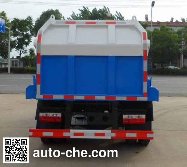 中汽力威牌HLW5071ZDJEQ5压缩式对接垃圾车