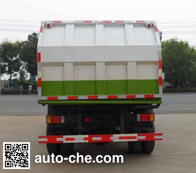 中汽力威牌HLW5100ZDJH压缩式对接垃圾车