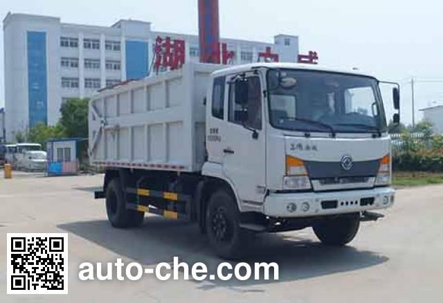 Zhongqi Liwei HLW5160ZDJ5EQ docking garbage compactor truck