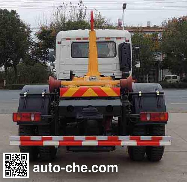 Zhongqi Liwei HLW5160ZXXT detachable body garbage truck