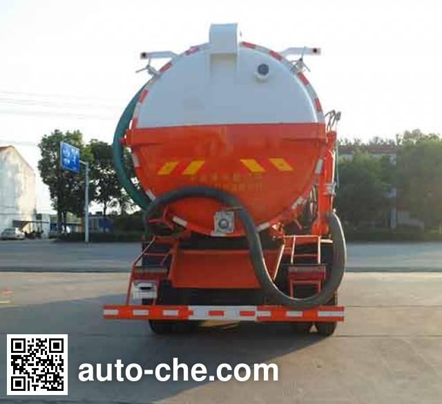 Zhongqi Liwei HLW5250GZXD biogas digester sewage suction truck