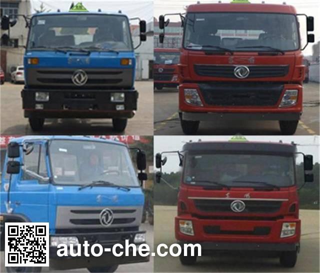 Zhongqi Liwei HLW5251GFW5EQ corrosive substance transport tank truck