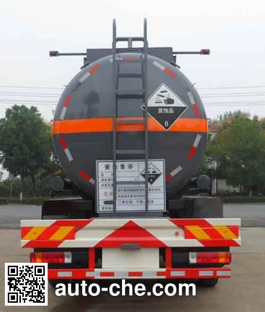 Zhongqi Liwei HLW5310GFWC corrosive substance transport tank truck