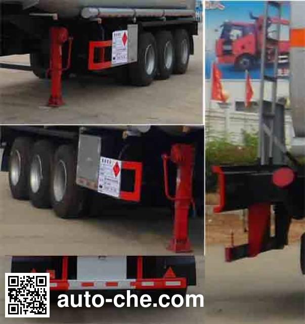 Zhongqi Liwei HLW9400GYY oil tank trailer