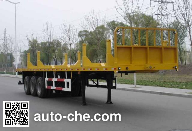 Huanli HLZ9400GCP pipe transport trailer