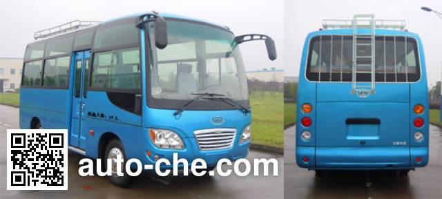 华新牌HM6600LFD4J客车