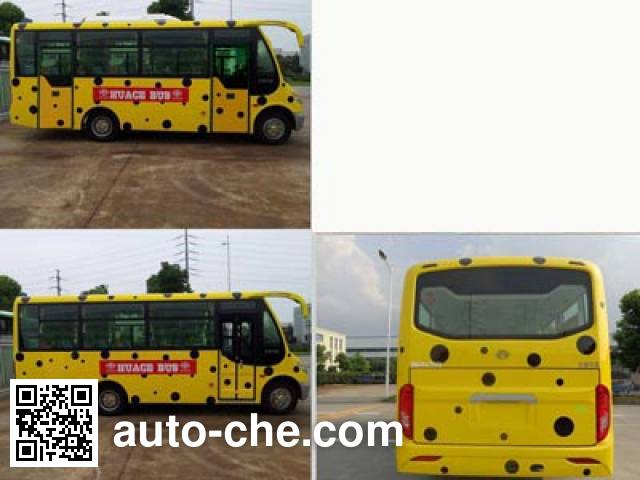 Huaxin HM6602CFD5J city bus