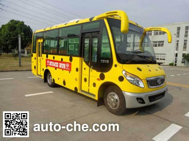 华新牌HM6662CFD5X城市客车