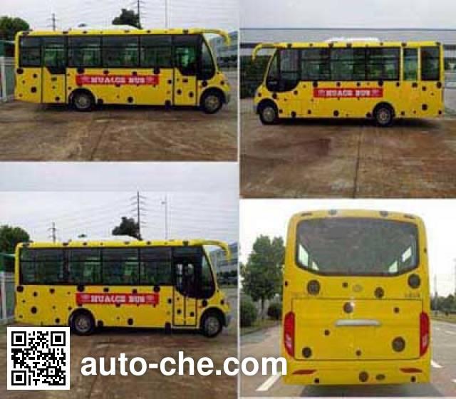 华新牌HM6720CFN5X城市客车