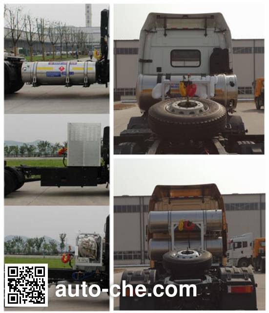 CAMC Star HN4180NGX35D2M5 tractor unit