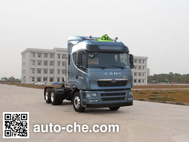 CAMC Star HN4255NGA38C9M5 dangerous goods transport tractor unit