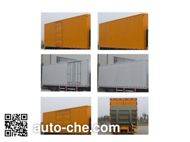 CAMC Star HN5200XXYHC26E8M5 box van truck