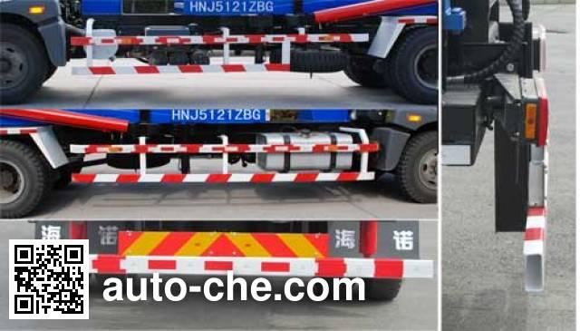 Hainuo HNJ5121ZBG tank transport truck