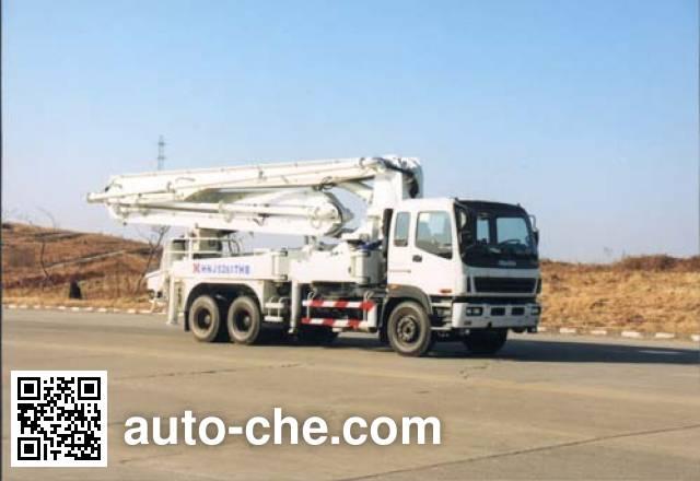 海诺牌HNJ5261THB混凝土泵车
