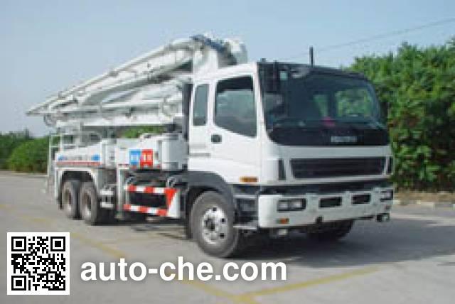 海诺牌HNJ5264THB混凝土泵车