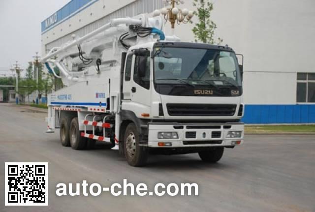海诺牌HNJ5330THB混凝土泵车