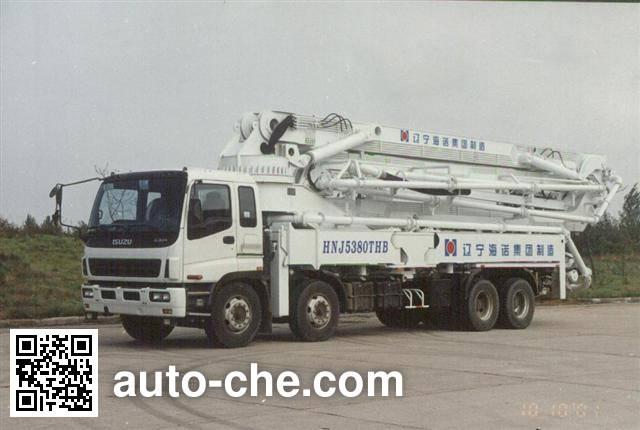 海诺牌HNJ5380THB混凝土泵车