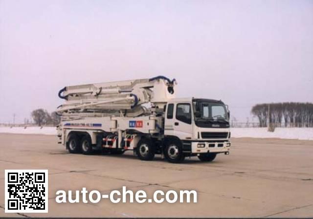 海诺牌HNJ5381THB混凝土泵车
