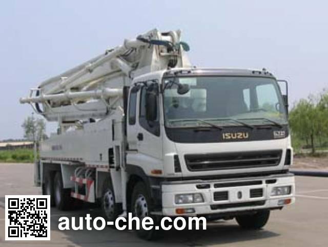 海诺牌HNJ5402THB混凝土泵车