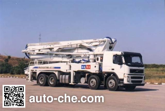 海诺牌HNJ5420THB混凝土泵车