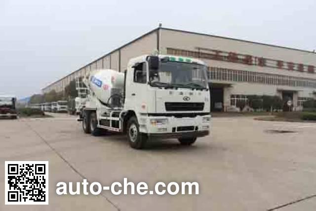 湖南牌HNX5254GJB混凝土搅拌运输车