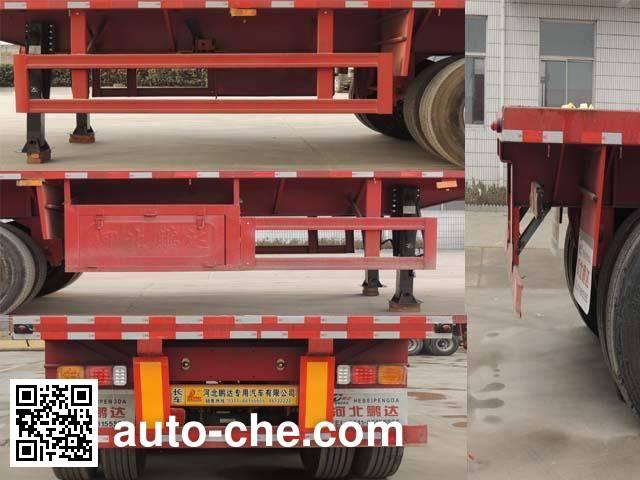Huihuang Pengda HPD9400TPB flatbed trailer