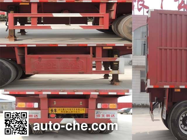 Huihuang Pengda HPD9401XXY box body van trailer