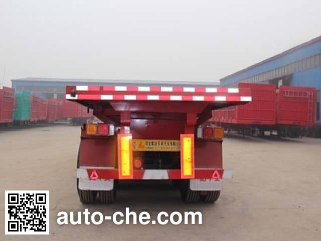 Huihuang Pengda HPD9401ZZXP flatbed dump trailer