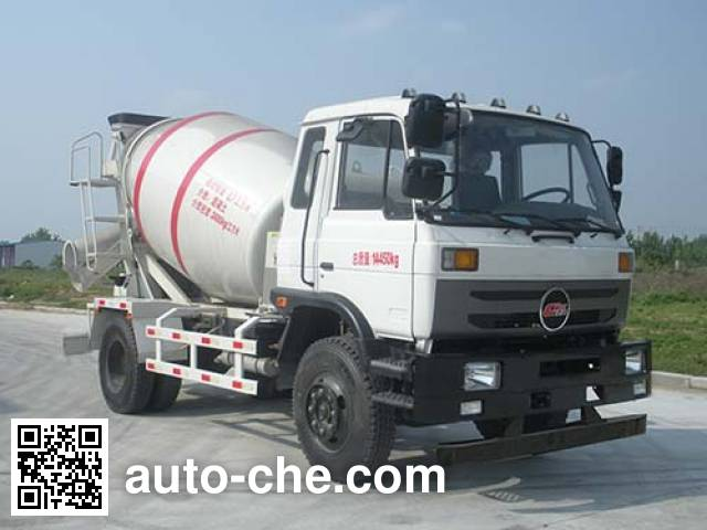 楚风牌HQG5145GJBGD5混凝土搅拌运输车