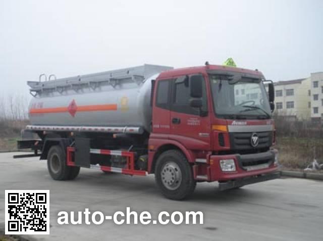 CHTC Chufeng HQG5160GRY4BJ flammable liquid tank truck