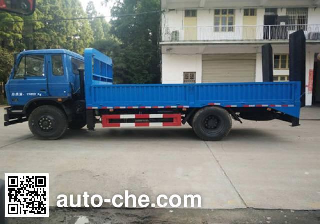 CHTC Chufeng HQG5160TPBEQ5 flatbed truck