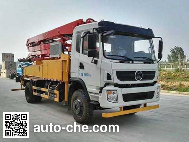 CHTC Chufeng HQG5196THBGD5 concrete pump truck