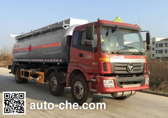 CHTC Chufeng HQG5250GRY4BJ flammable liquid tank truck