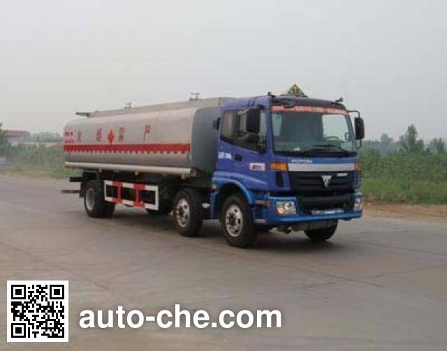 CHTC Chufeng HQG5253GHYBJ3 chemical liquid tank truck